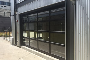 image of Aluminum door installed on office by Raynor Hawaii