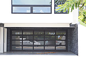 image of aluminum residential garage door by Raynor