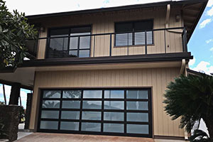 image of residential aluminum garage door by Raynor