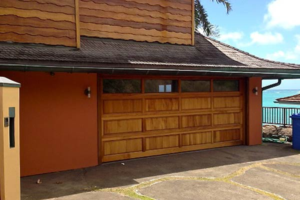 image of residential wood garage by Raynor