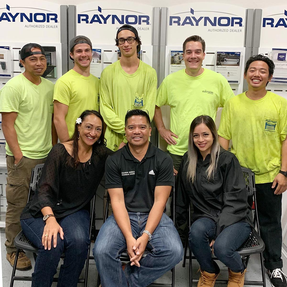 image of Raynor residential sales staff.