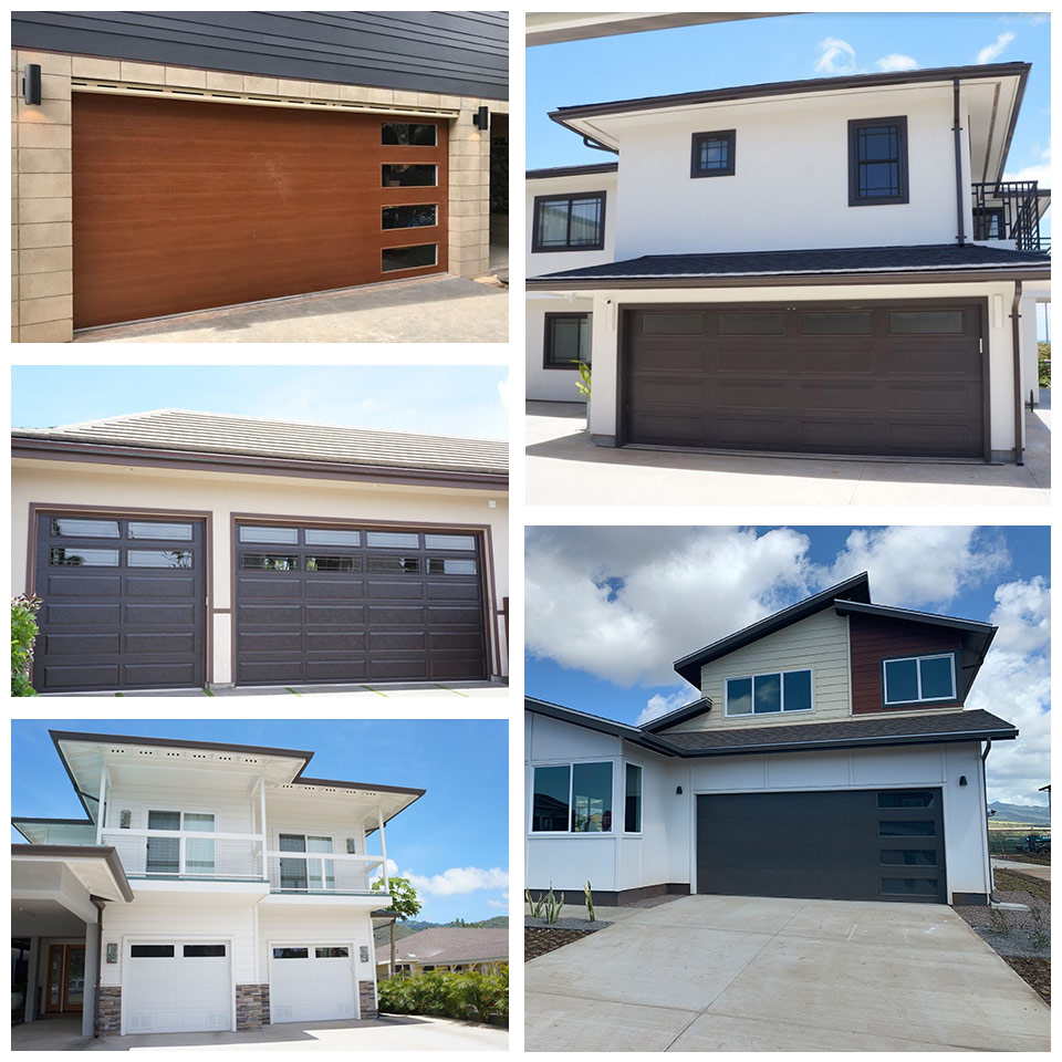 image of group of steel garage doors by Raynor Hawaii